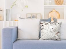 Spark Pillow 110 csontszínű / króm