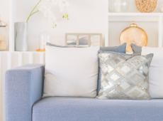 Spark Pillow 110 szürke / ezüst