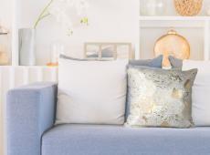 Spark Pillow 210 csontszínű / arany