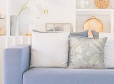 Spark Pillow 410 csontszínű / arany
