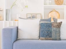 Symphony Pillow 160 kék