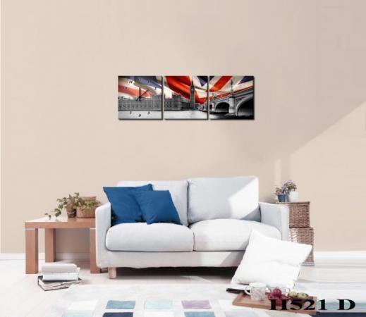 Vászonkép Faliórával H521