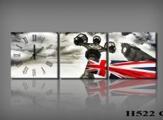 Vászonkép Faliórával H522