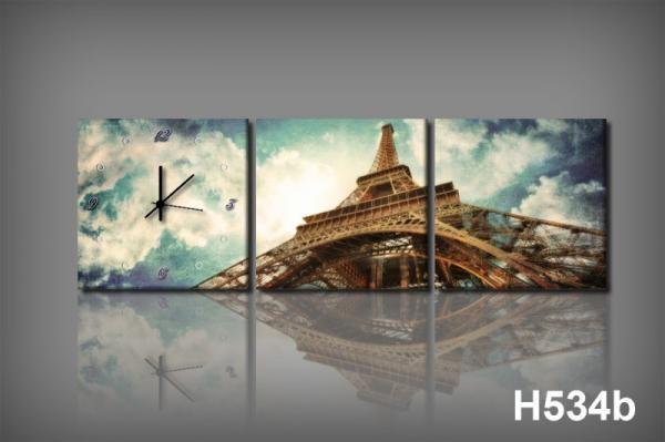 Vászonkép Faliórával h534