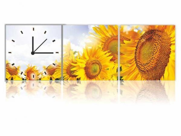 Vászonkép faliórával H601