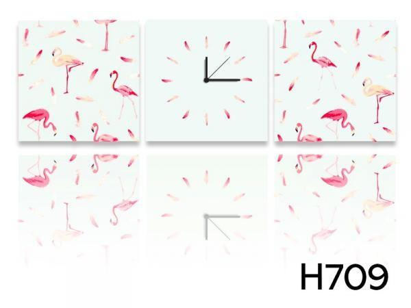 Vászonkép faliórával H709