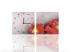 Vászonkép Faliórával H711