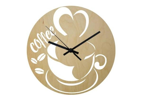 Wood - Coffee - falióra