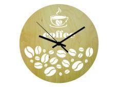 Wood - Coffee_Fa - falióra