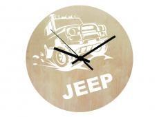 Wood - Jeep - falióra