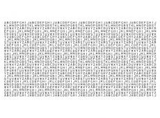 XXL Fotótapéta - Alphabet