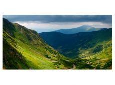 XXL Fotótapéta - Green mountain landscape