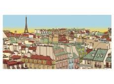 XXL Fotótapéta - Jó reggelt Párizs!