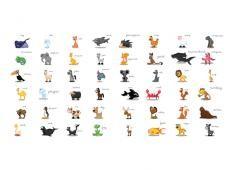 XXL Fotótapéta - Learning by playing (animals)