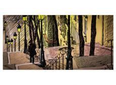 XXL Fotótapéta - Lonely walk through Montmartre