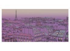 XXL Fotótapéta - Péntek este Párizsban