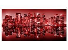 XXL Fotótapéta - Red-hot NYC