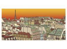 XXL Fotótapéta - Reggel kávét Párizsban