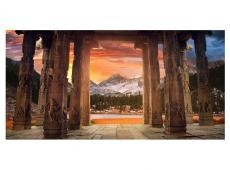 XXL Fotótapéta - Trail of rocky temples